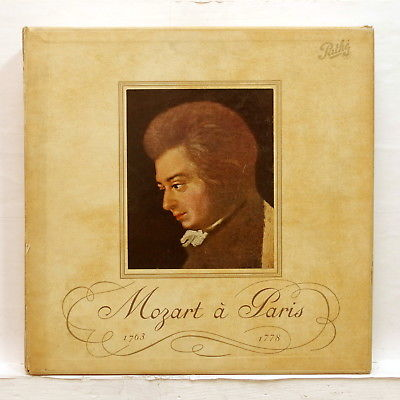 MOZART A PARIS - OUBRADOUS - PATHE DTX 191/7 - 7xLPs box FRENCH ORIGINAL