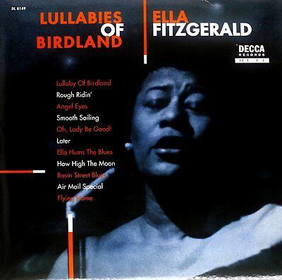 ELLA FITZGERALD LULLABIES OF BIRDLAND 180GM LP VINYL RECORD NEW