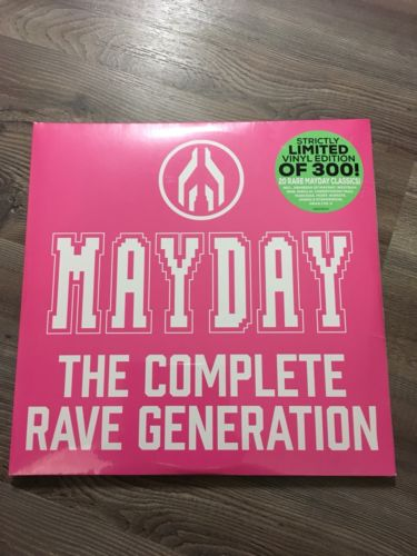 popsike com - MAYDAY - The Complete Rave Generation VINYL RAR 4 Fach