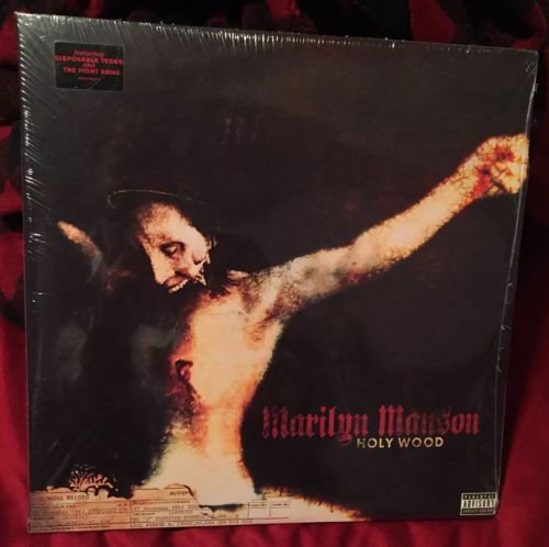 Never opened/New in plastic Marilyn Manson Holy Wood Vinyl Lp