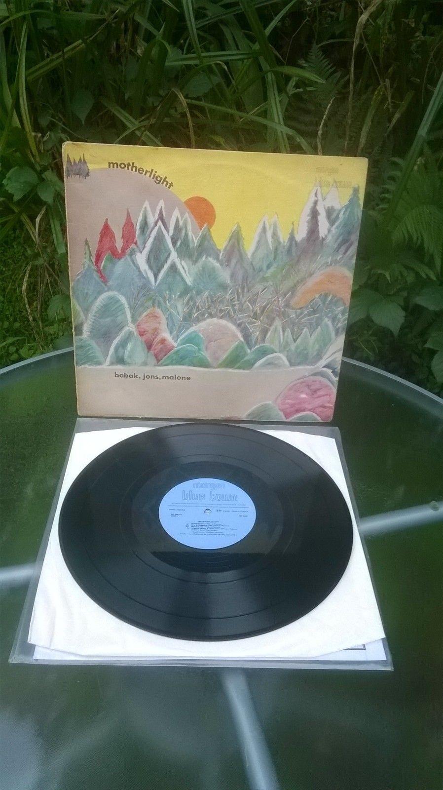 MOTHERLIGHT BOBAK, JONS, MALONE RARE MORGAN BLUE TOWN LP BT 5003 N/M / V/G+
