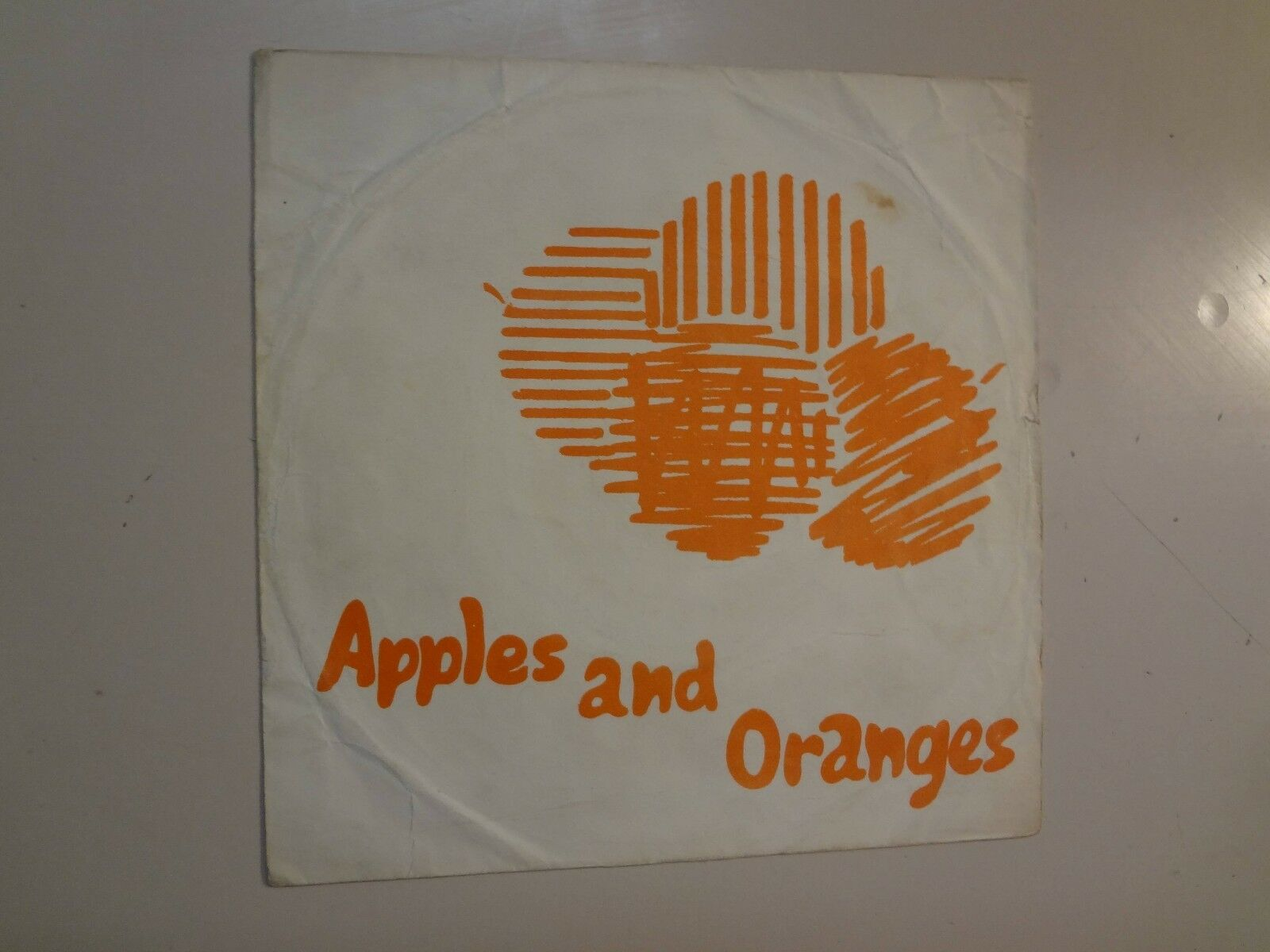 "PINK FLOYD: Apples And Oranges- Paint Box-U.K. 7"" 67 Columbia Demo w/DJ Only ASL"