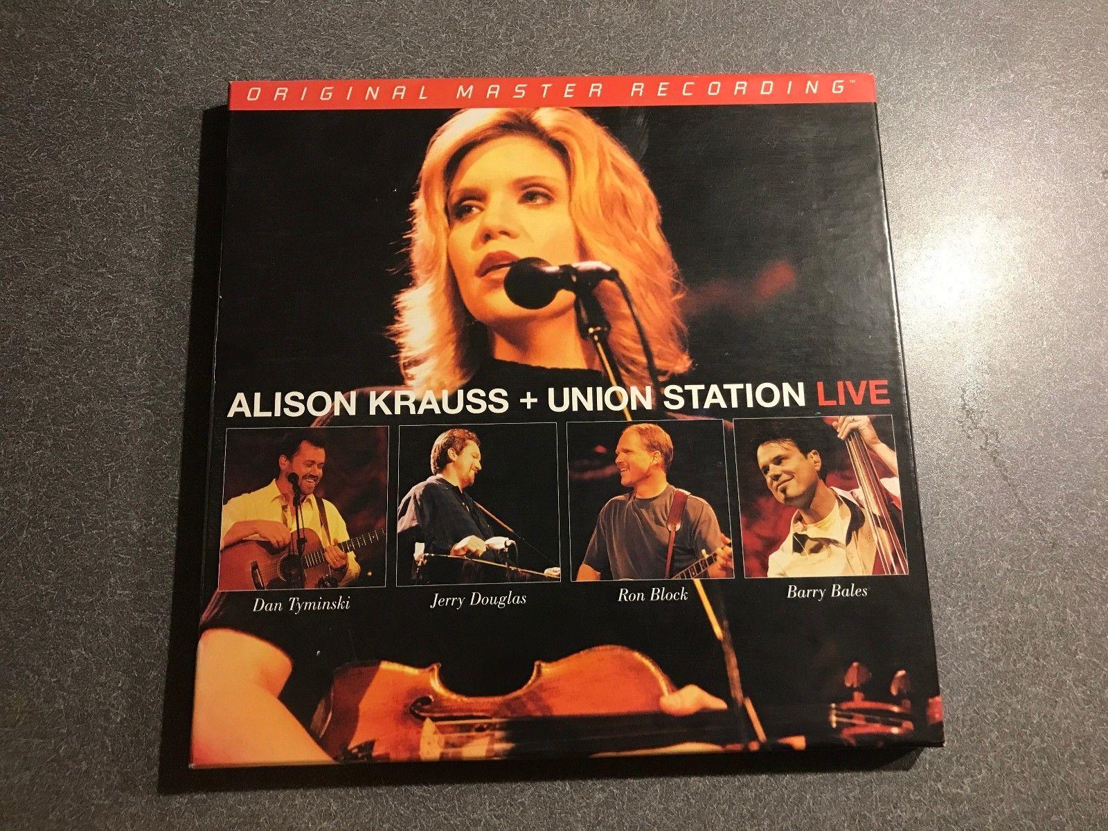 ALISON KRAUSS + UNION STATION Live - 2006 Mobile Fidelity 3LP box set