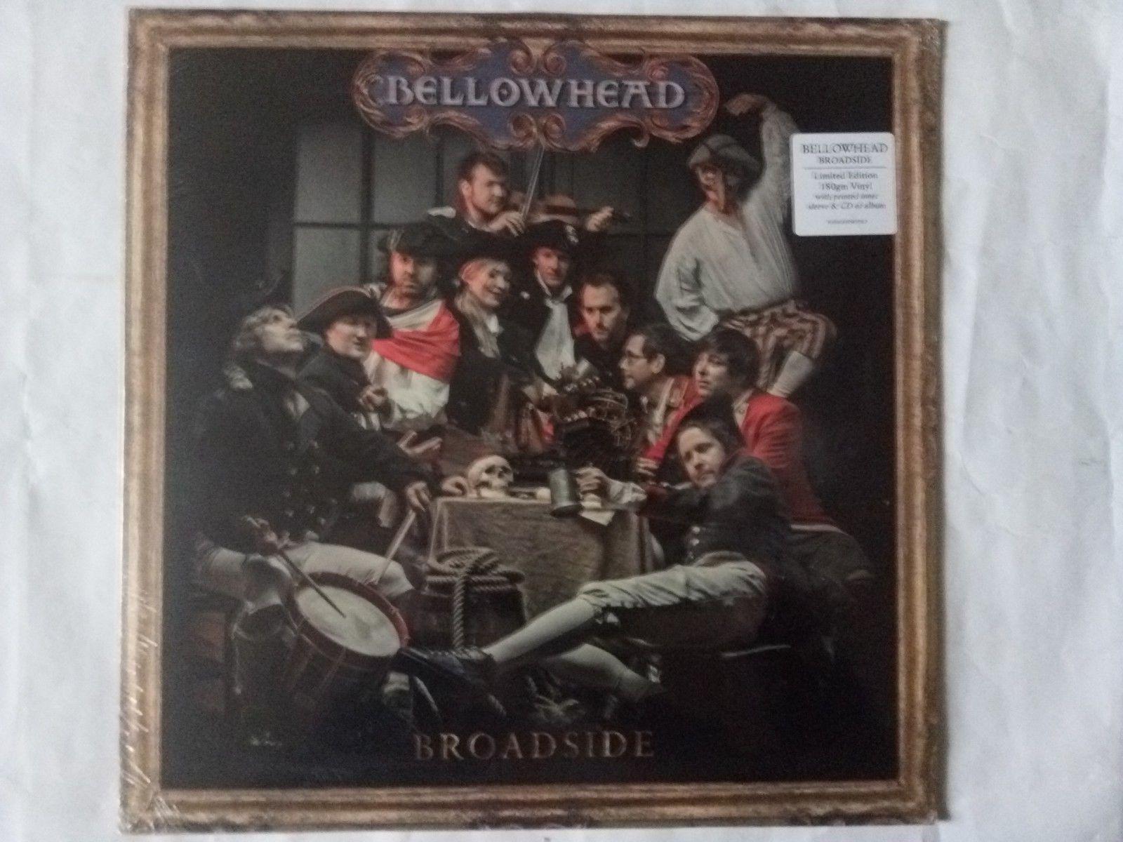 BELLOWHEAD BROADSIDE NEW S/S 180GM LP S/S P/S & CD NAVIGATOR073LP 2012  FOLK