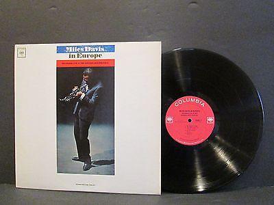 Miles Davis In Europe High Fidelity Lp CL 2183 Mono Vinyl Record N/M