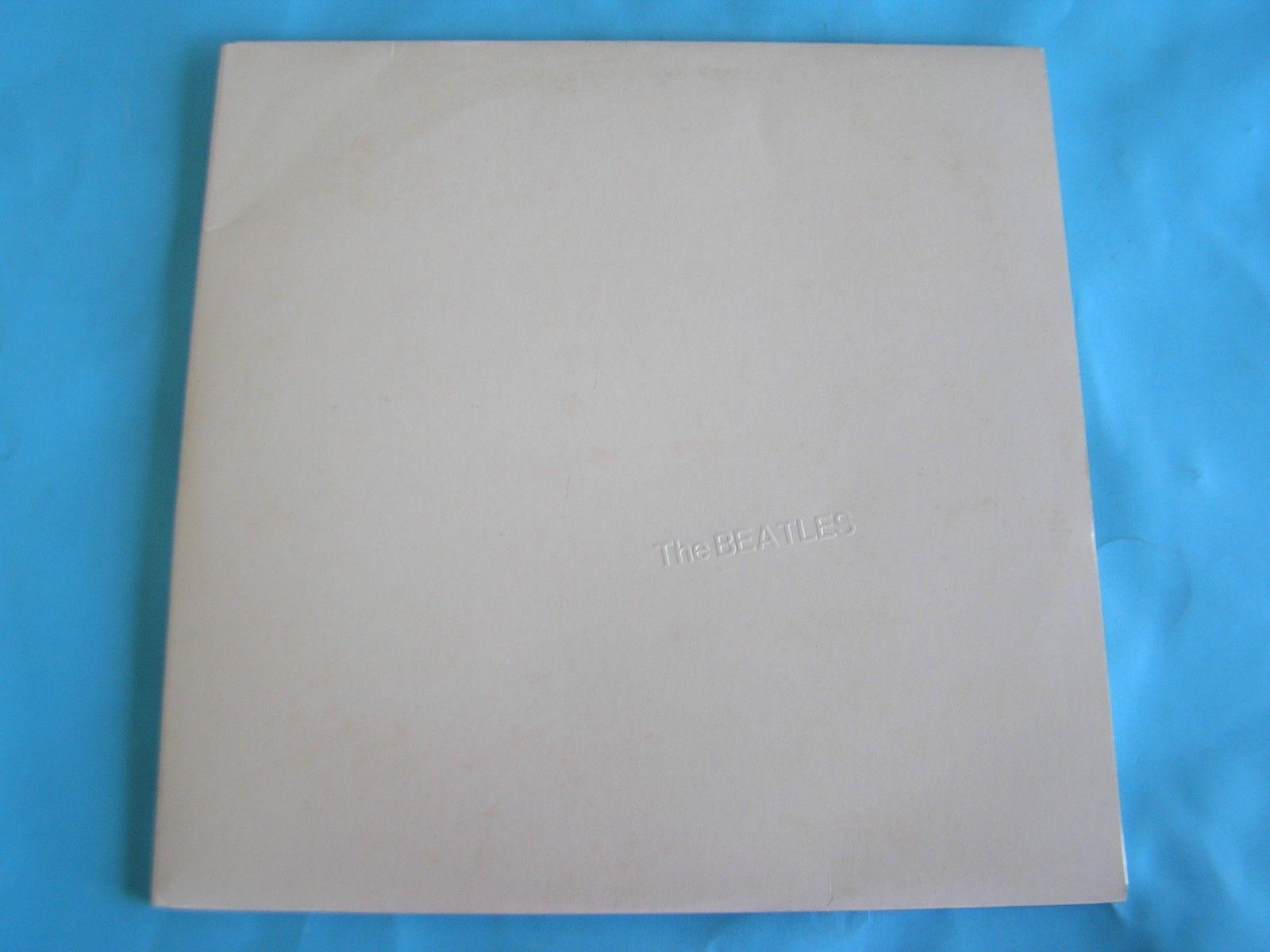 THE BEATLES - WHITE ALBUM -WITH INNER  & CARDS - ORIGINAL OZ LP RECORD