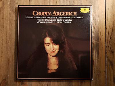 DGG 2740270 - Chopin - Piano Works - Martha ARGERICH - ABBADO - ROSTROPOVICH- NM