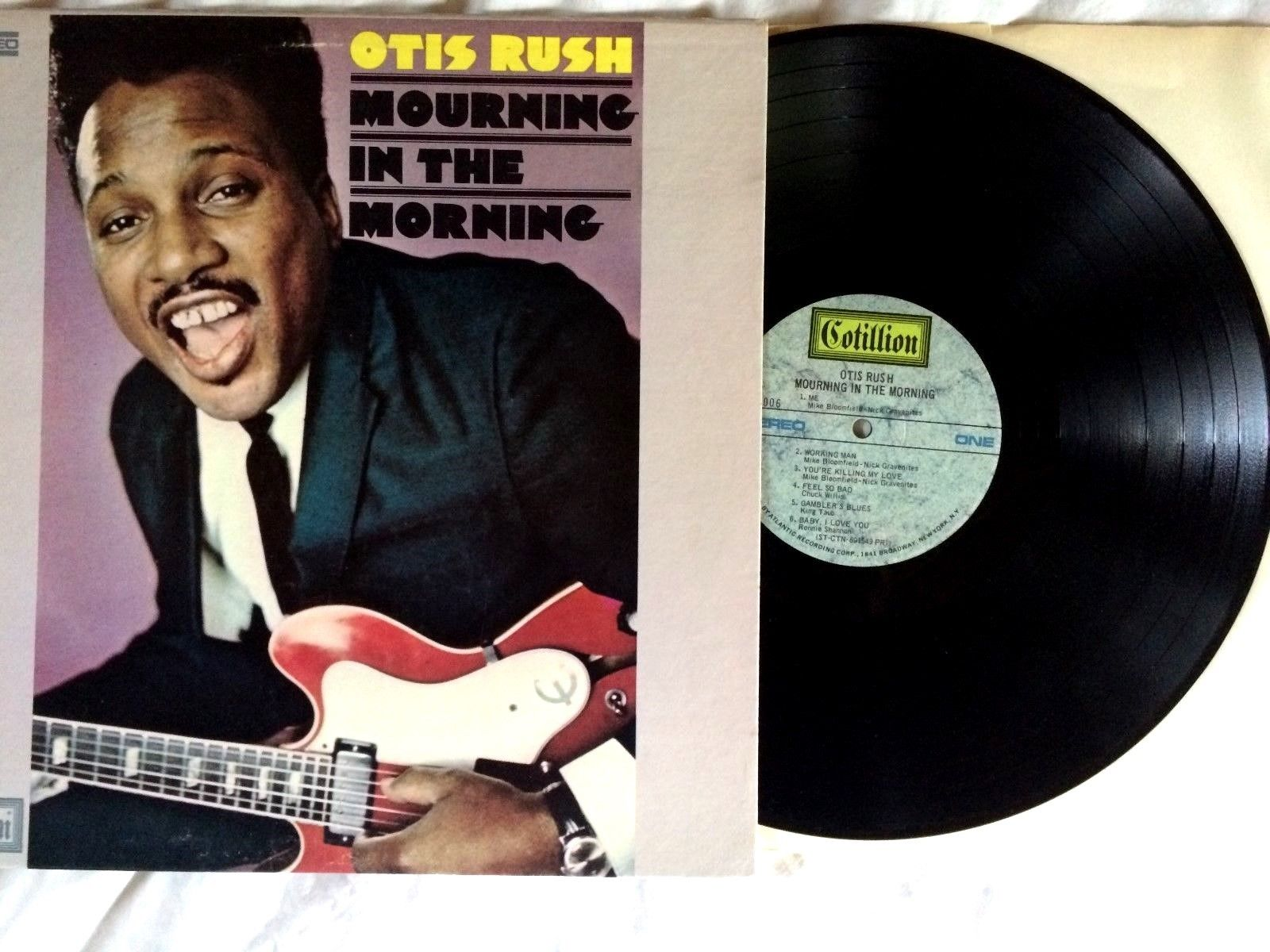 Otis Rush 'Mourning In The Morning' Cotillion SD 9OO6. . .Northern Chicage Soul