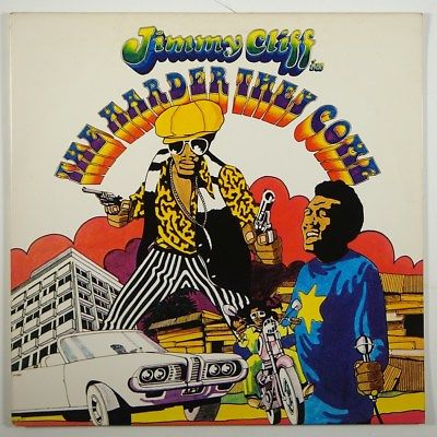 """Jimmy Cliff """"The Harder They Come"""" Reggae LP Mango"""
