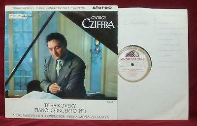 TCHAIKOVSKY: Piano Concerto No.1  Cziffra/Vandernoot  ASD 315