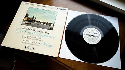 HERBERT VON KARAJAN / MOZART Symphonies COLUMBIA SAX 2356 B/S 3/11ED1