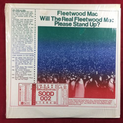 FLEETWOOD MAC: WILL THE REAL FLEETWOOD MAC PLEASE STAND UP? 2xLP Live 1975 NM