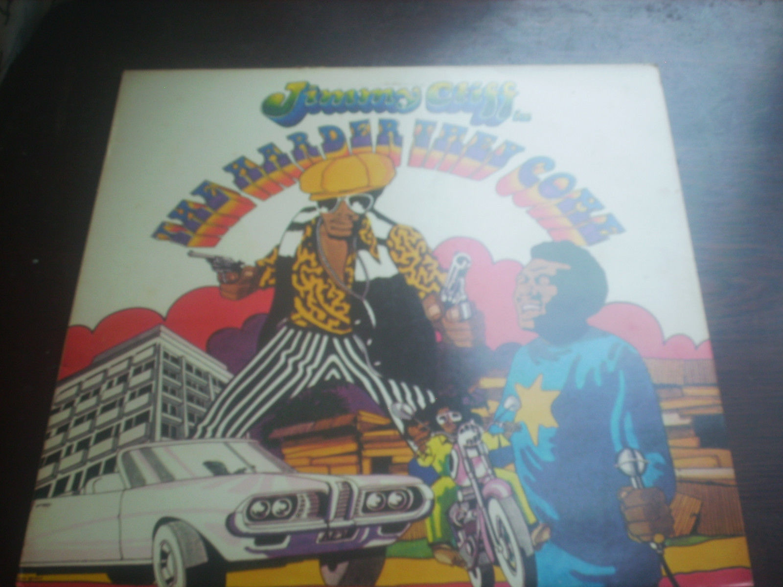 "JIMMY CLIFF The Harder They Come 12"" vinyl lp/albim ILPS 9202"
