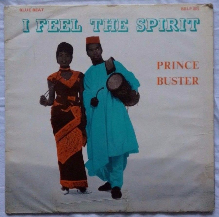 Prince Buster - I Feel The Spirit - RARE UK 1ST PRESS BBLP 802 Vinyl LP UK 1963
