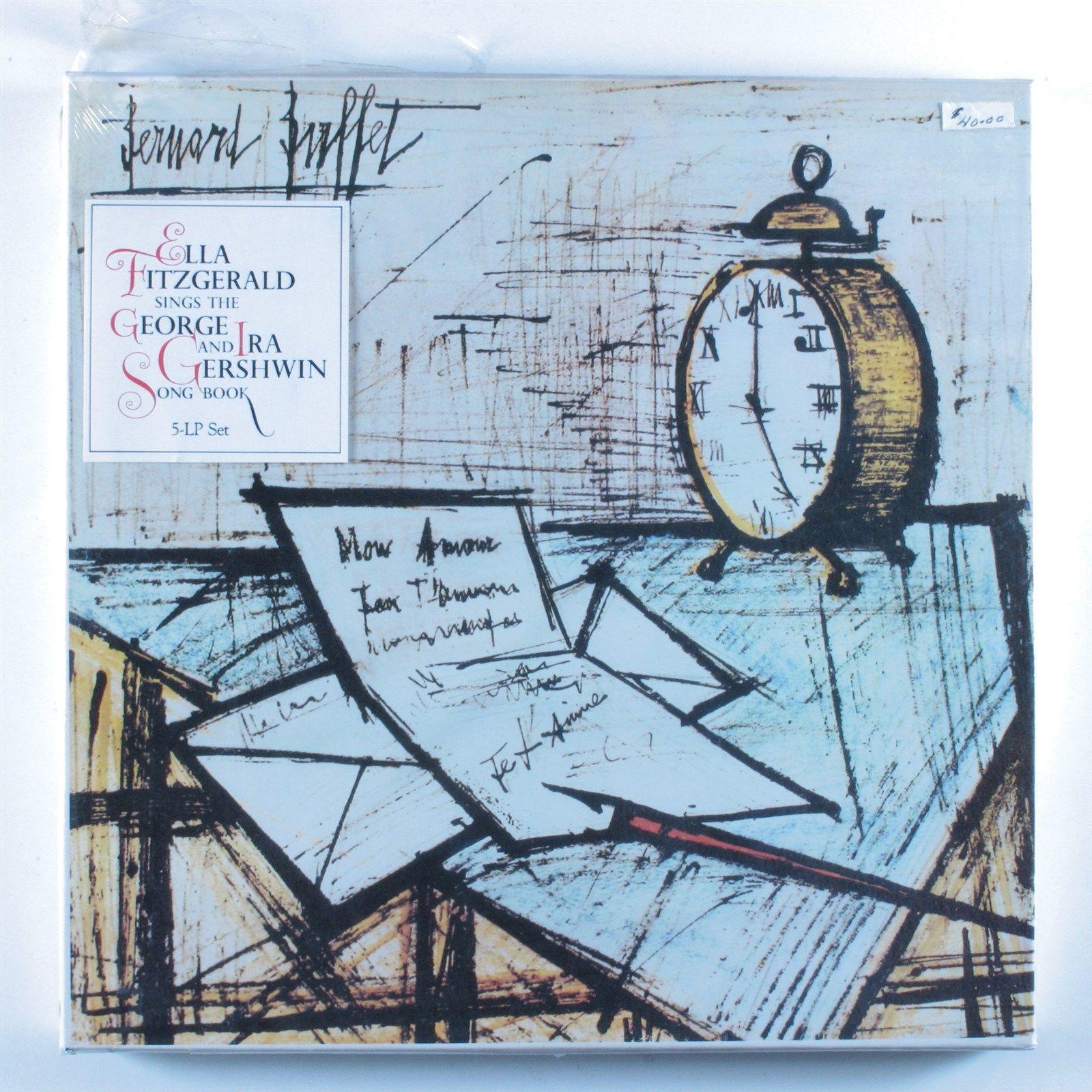 ELLA FITZGERALD Sings George/Ira Gershwin Song Book VERVE 5xLP  SEALED