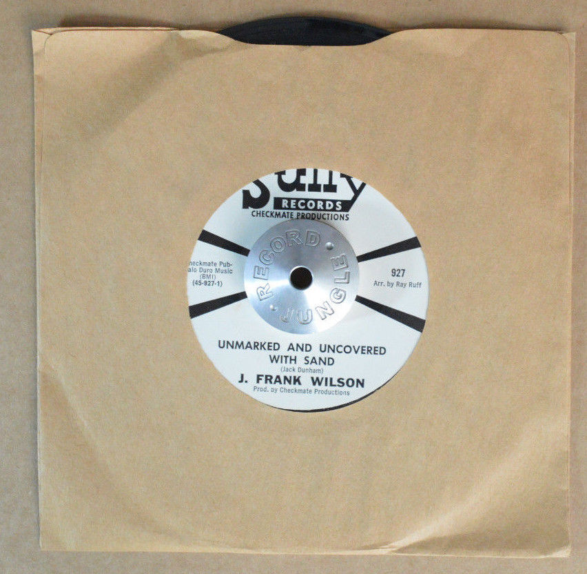 TEEN GARAGE 45 - J. FRANK WILSON - UNMARKED AND UNCOVERED /ME PROMO M- Hear