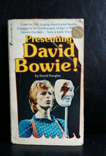 David bowie presenting david bowie book by David Douglas
