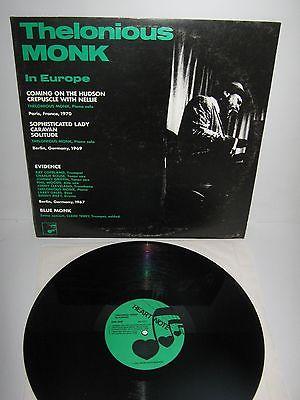 THELONIOUS MONK – In Europe – vinyl LP – Clark Terry, Phil Woods ...