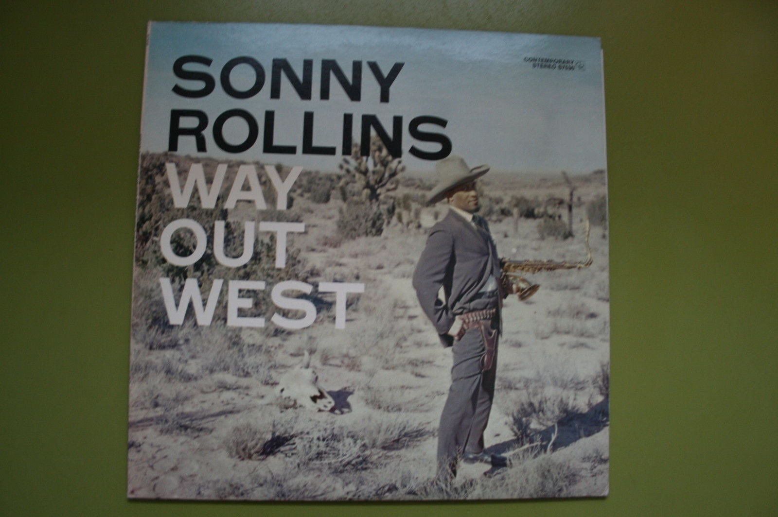 Sonny Rollins ?– Way Out West [Contemporary Records ?– S7530]
