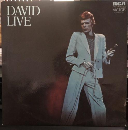 David Bowie - David Live David Bowie At The Tower Philadelphia 2LP 1974 /5 Vinyl