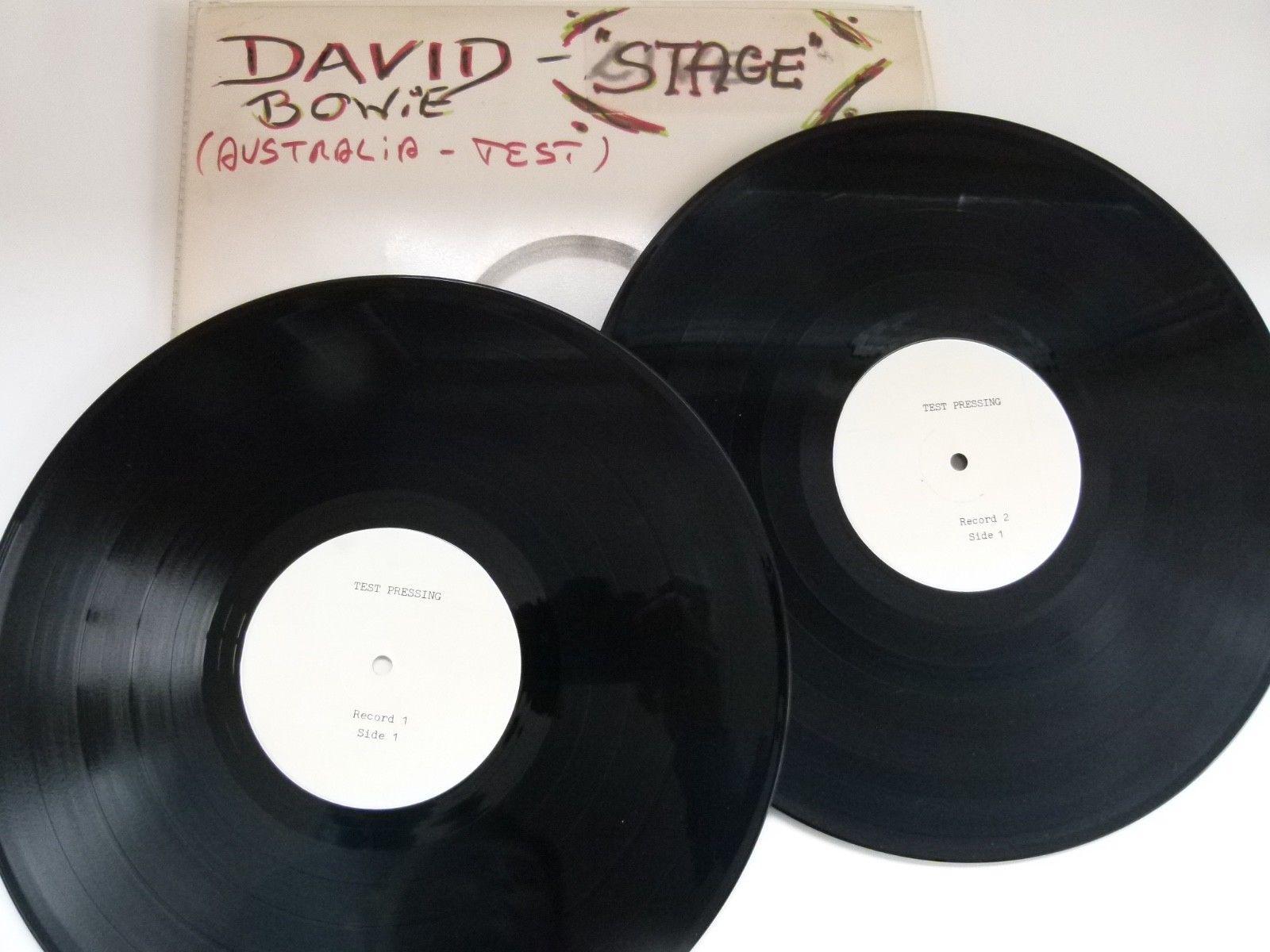 popsike.com - David Bowie 2 LP Vinyl STAGE - TEST PRESSING