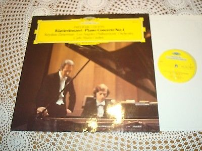 Chopin Piano Concerto No.1 KRYSTIAN ZIMERMAN GIULINI ORIG DGG LP 2531125 MINT