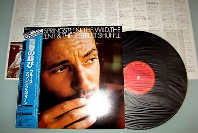 Bruce Springsteen The Wild Innocent & E Street Shuffle - Vinyl LP Japan 25AP1273