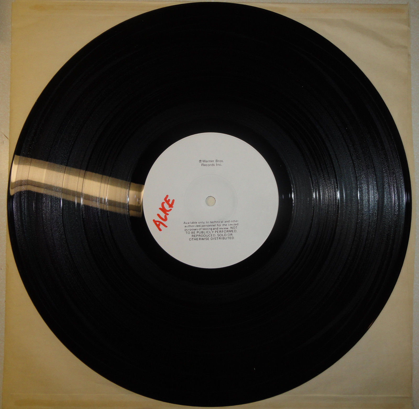 Alice Cooper Special Forces Test Pressing BSK3581 Hard Rock Album M-