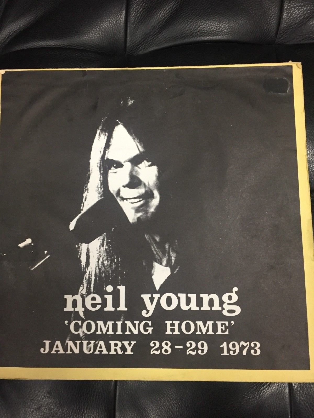 NEIL YOUNG 'COMING HOME' ORIG LIVE LP not TMOQ 'JANUARY 28-29 -1973' TOP EX