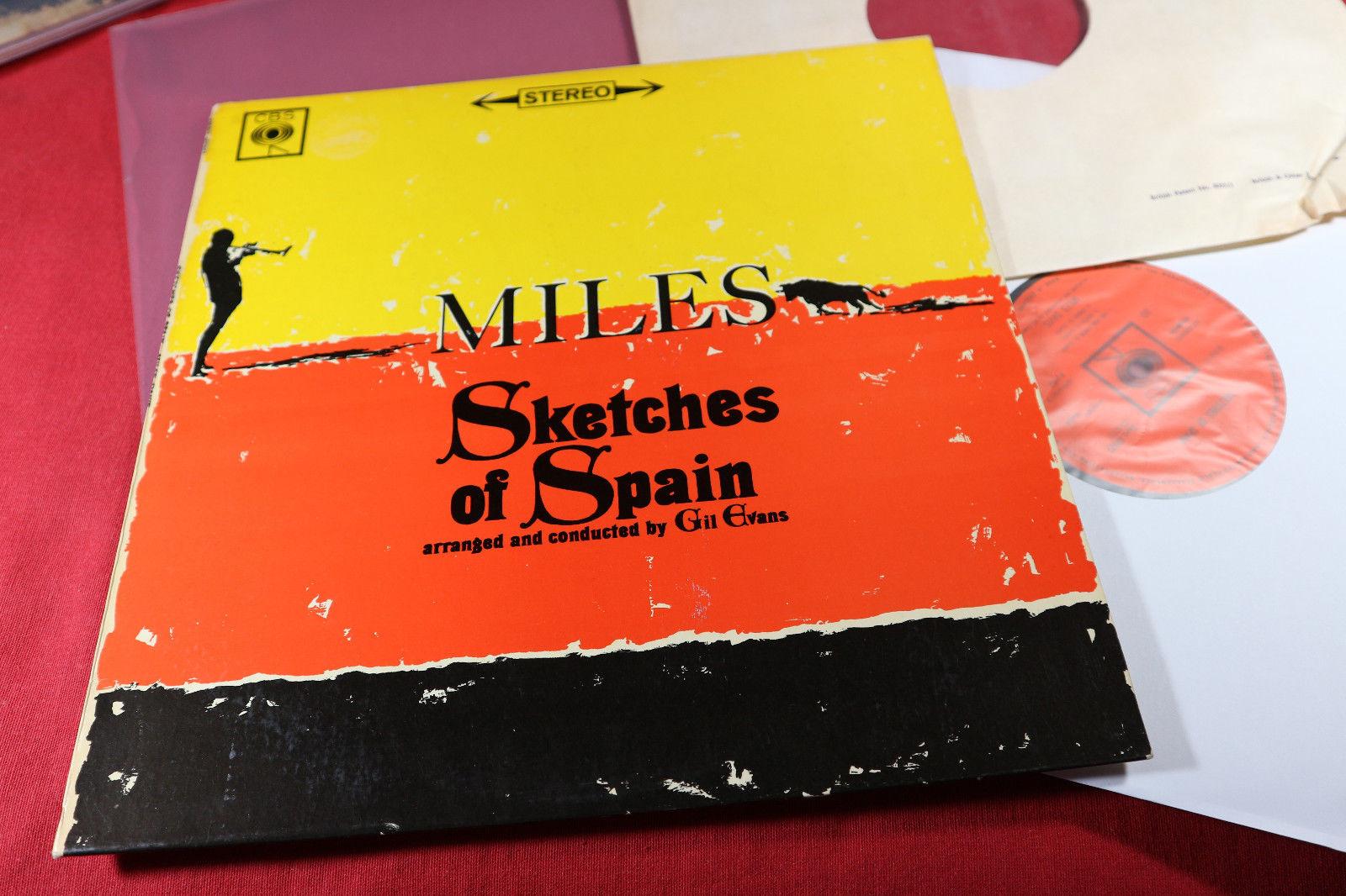 Miles Davis  SKETCHES OF SPAIN  -  LP CBS SBPG 62327 UK sehr gut