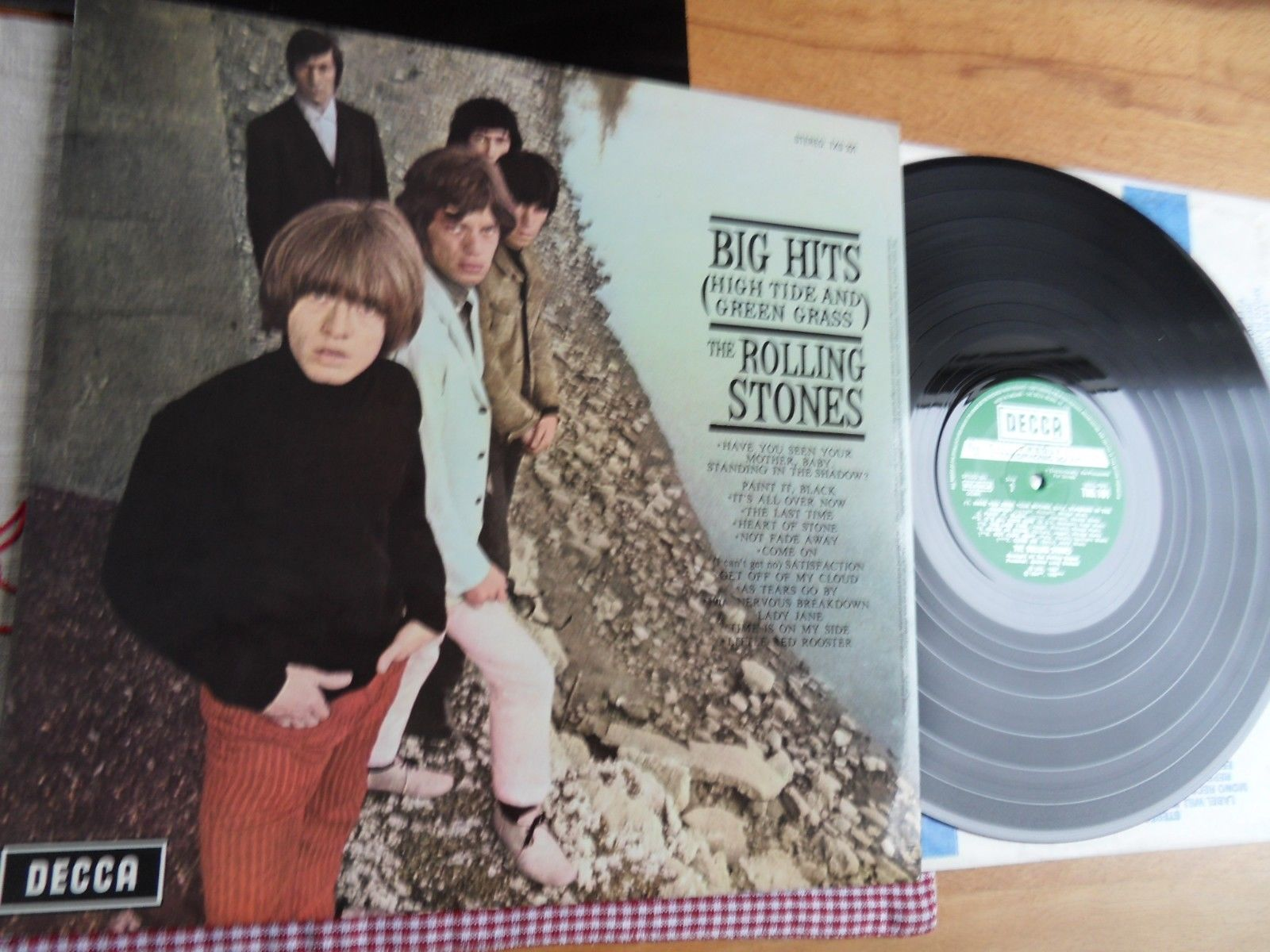 Rolling Stones Big Hits DECCA TXS 101 UK 1st Stereo Press (NM) mit Poster
