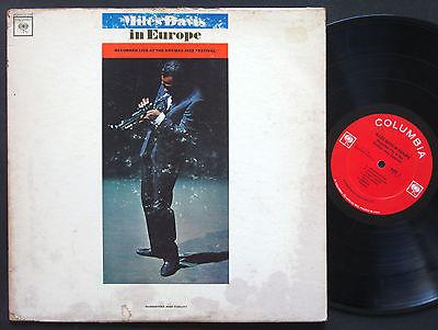 MILES DAVIS In Europe LP COLUMBIA CL 2183 US 1964 2-EYE MONO JAZZ Herbie Hancock
