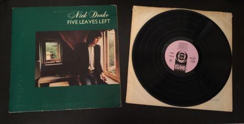 NICK DRAKE - FIVE LEAVES LEFT Original UK 1969 1ST Press LP