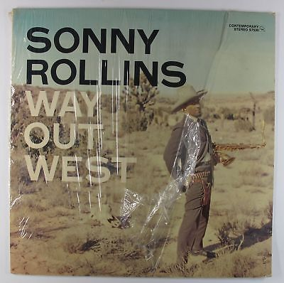 Sonny Rollins - Way Out West LP - Contemporary - S7530 Stereo VG+ Shrink