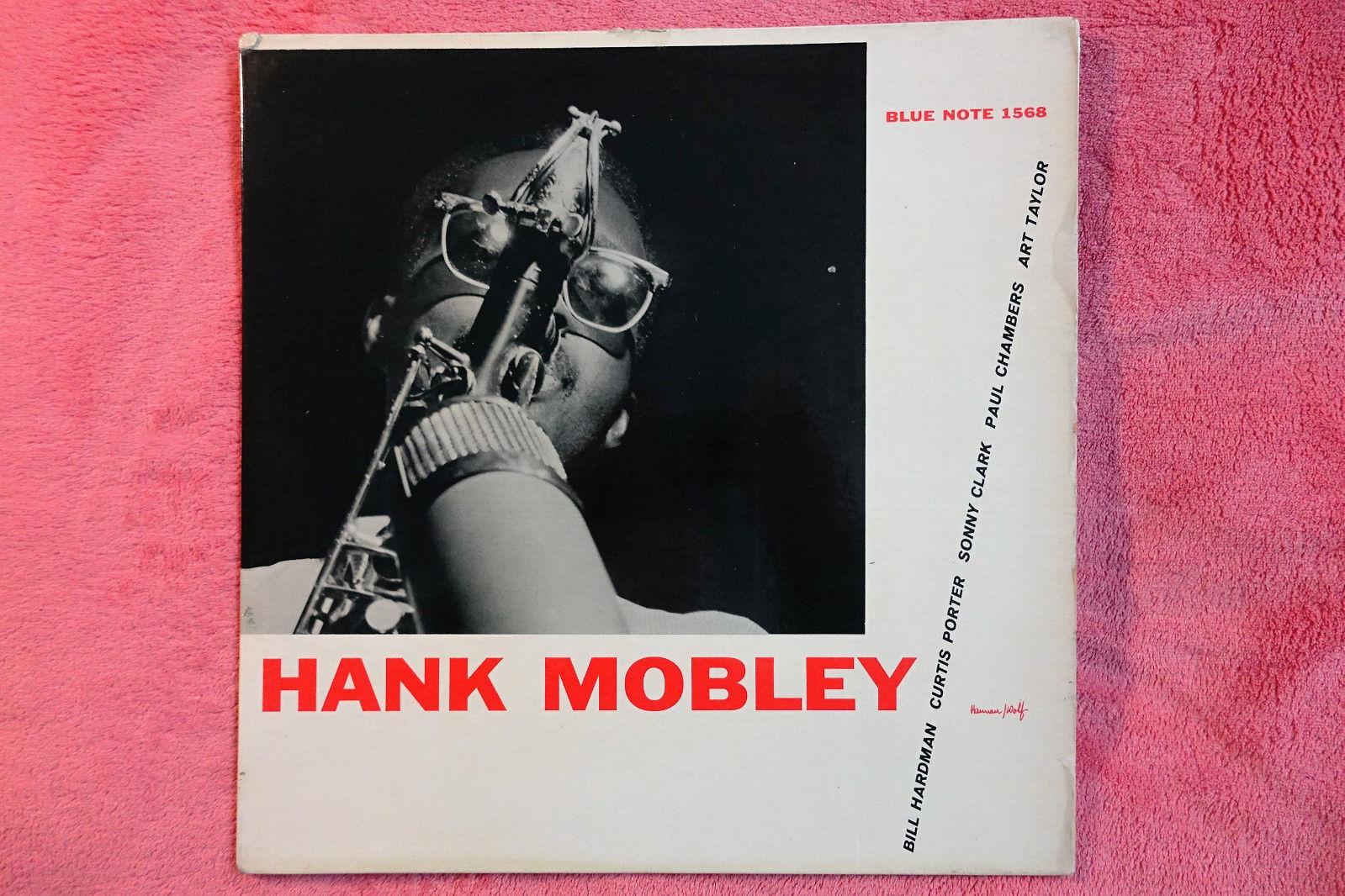 HANK MOBLEY 'SELF TITLE'  BLP 1568. PROMOTION COPY.SIDE A:NYC/SIDE B:NEW YORK 23