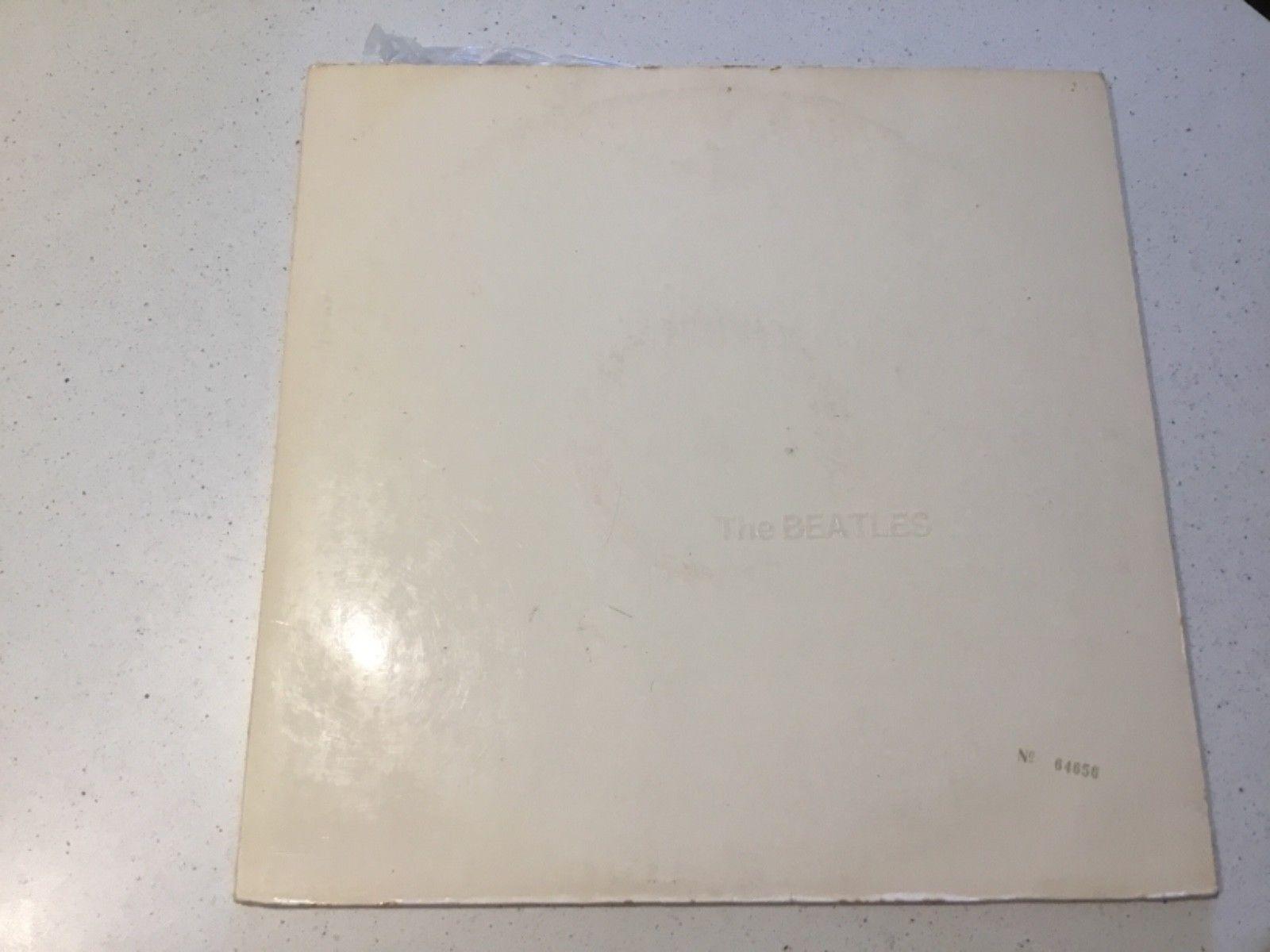 The Beatles The White Album oz original all inserts posters etc vinyl record LP