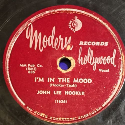 John Lee Hooker I'm In The Mood How Can You Do It MODERN 835 78 VG