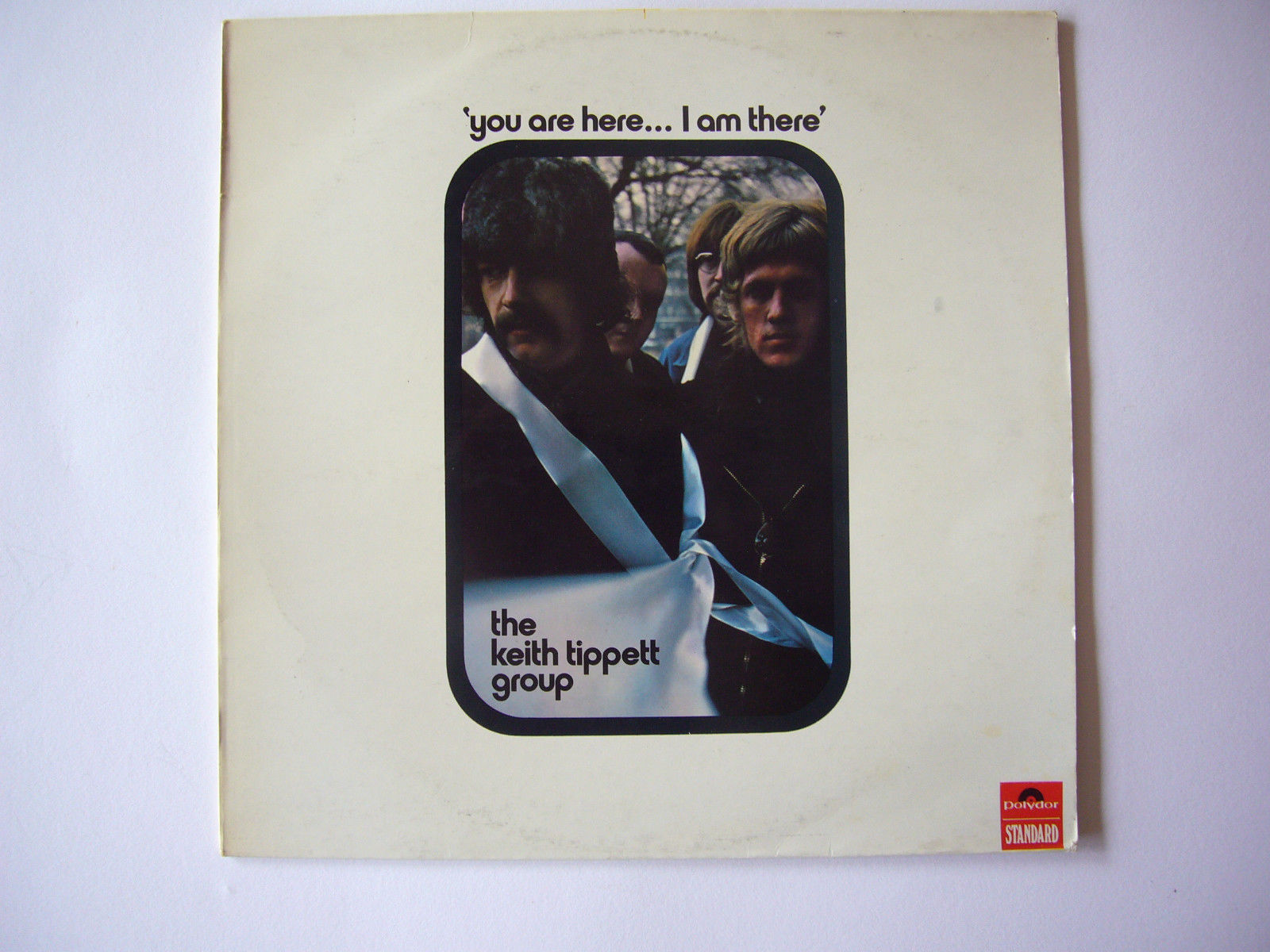KEITH TIPPETT - YOU ARE HERE...I AM THERE - 1970 POLYDOR VINYL LP EX/VG COND