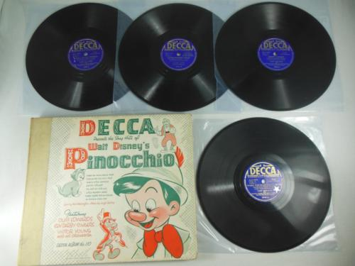 popsike com - PINOCCHIO: Decca Album No  110- Original Release from