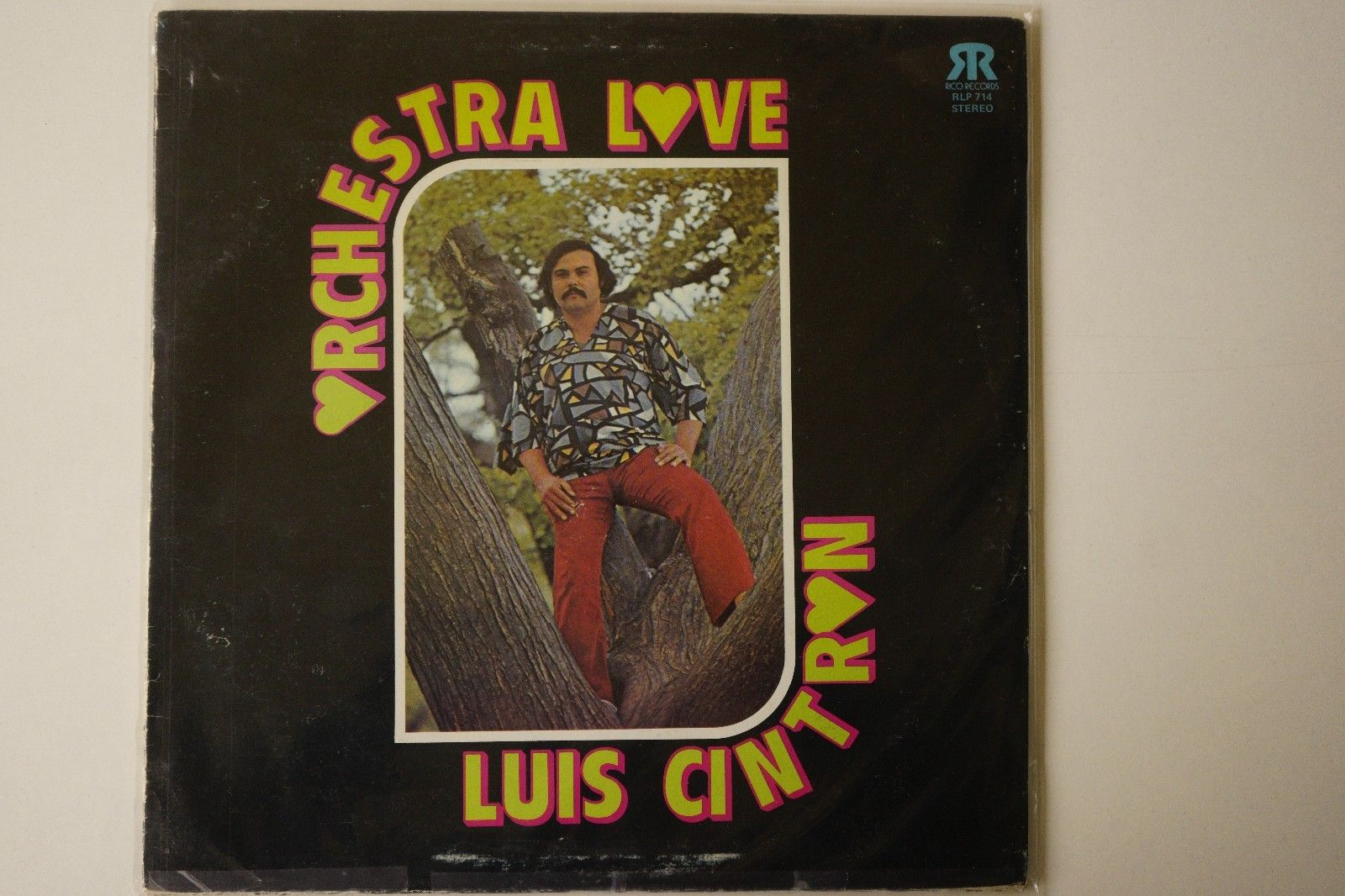 RARE SALSA - ORCHESTRA LOVE - RICO RECORD - ORIGINAL