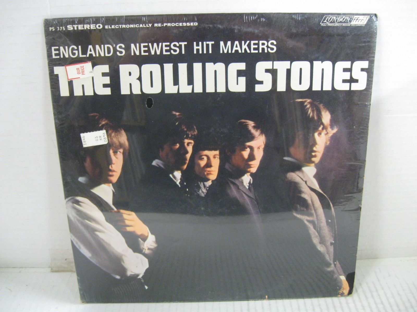 THE ROLLING STONES england's newest hitmakers LP London stereo PS 375 SEALED