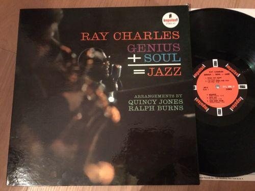 Ray Charles Genius + Soul = Jazz Quincy Jones Impulse US