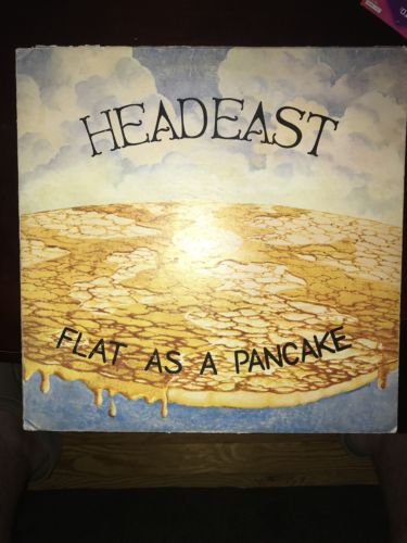 Head East Flat As A Pancake Rare First Pressing 1974 Pyramid Records LP Kshe