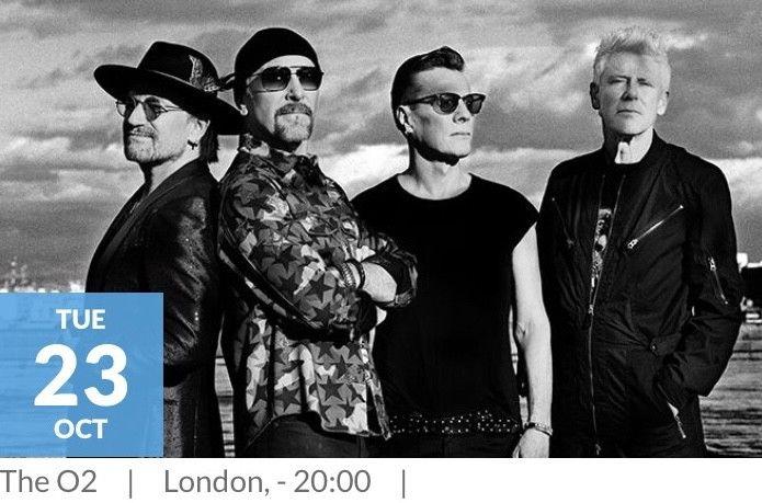 popsike com - U2 Live @ The O2 London, 23rd October 2018