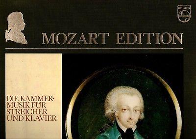 PHILIPS MOZART EDITION - SZERYNG / HAEBLER VIOLIN SONATAS, BEAUX ARTS TRIO 12 LP