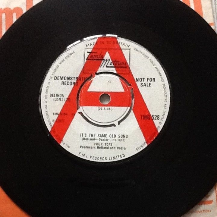 The Four Tops It's the same old song TMG528 Demo UK Tamla Motown