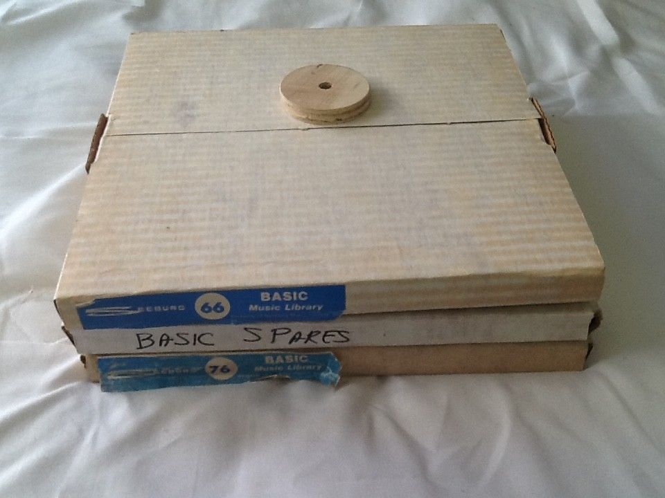 Seeburg 1000 records - Complete RR-66 & R-76 Basic, and spares