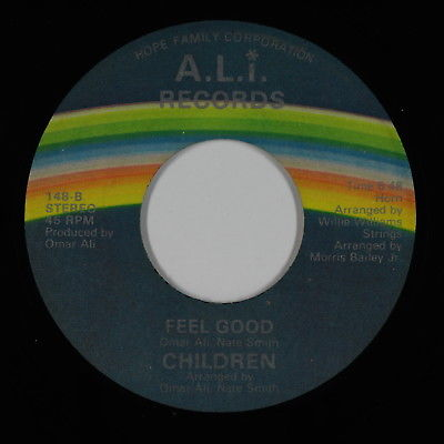 Modern Soul Disco 45 - Children - Feel Good - A.L.I. - mp3 - obscure