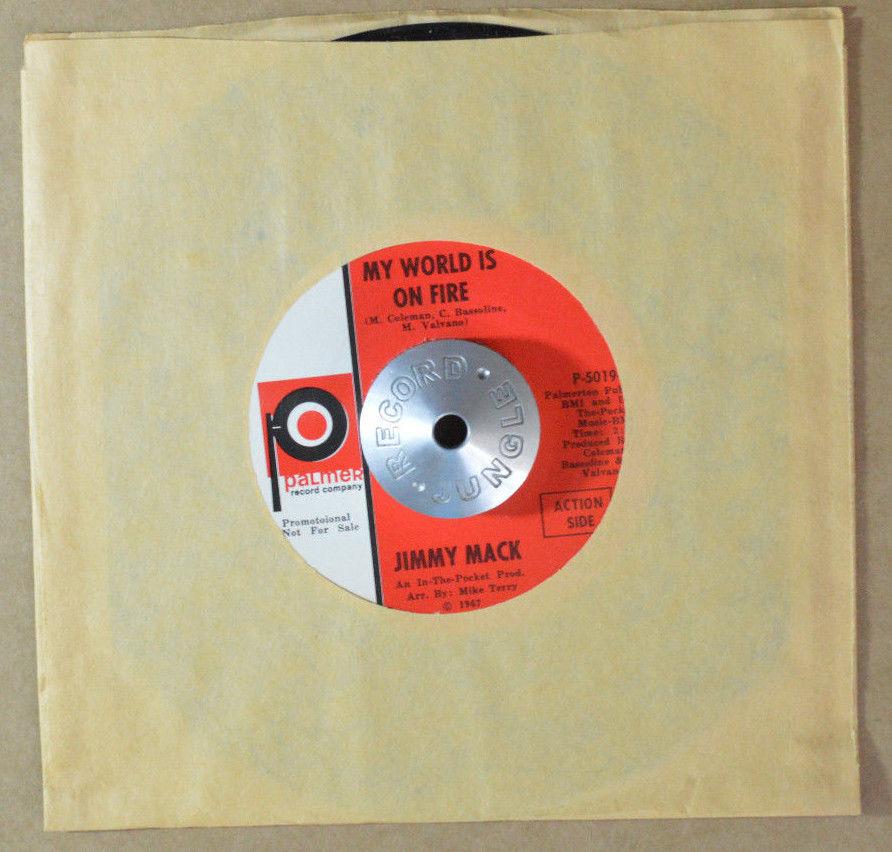 popsike com - NORTHERN SOUL 45 - JIMMY MACK - MY WORLD IS ON
