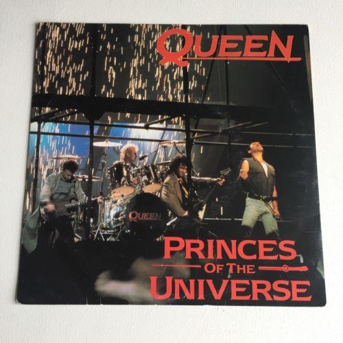 "Queen - Princes Of The Universe - 7"" Vinyl Single - (Australia) 1986 - Rare"